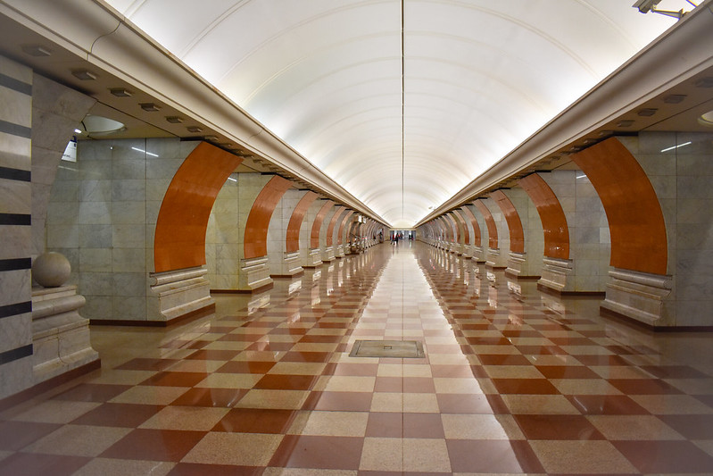 Park Pobedy Metro Station (Blue Line)