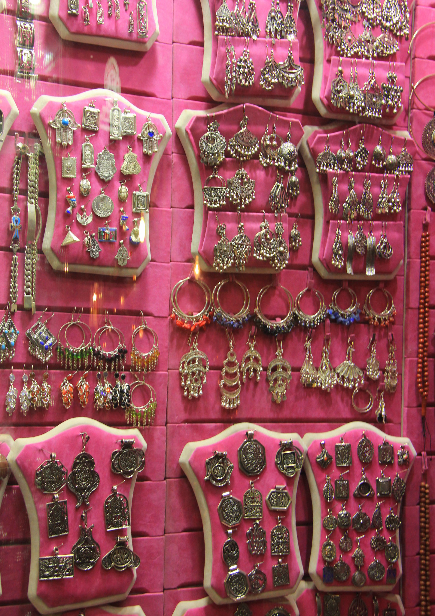 You can buy jewellery at khan el khalili