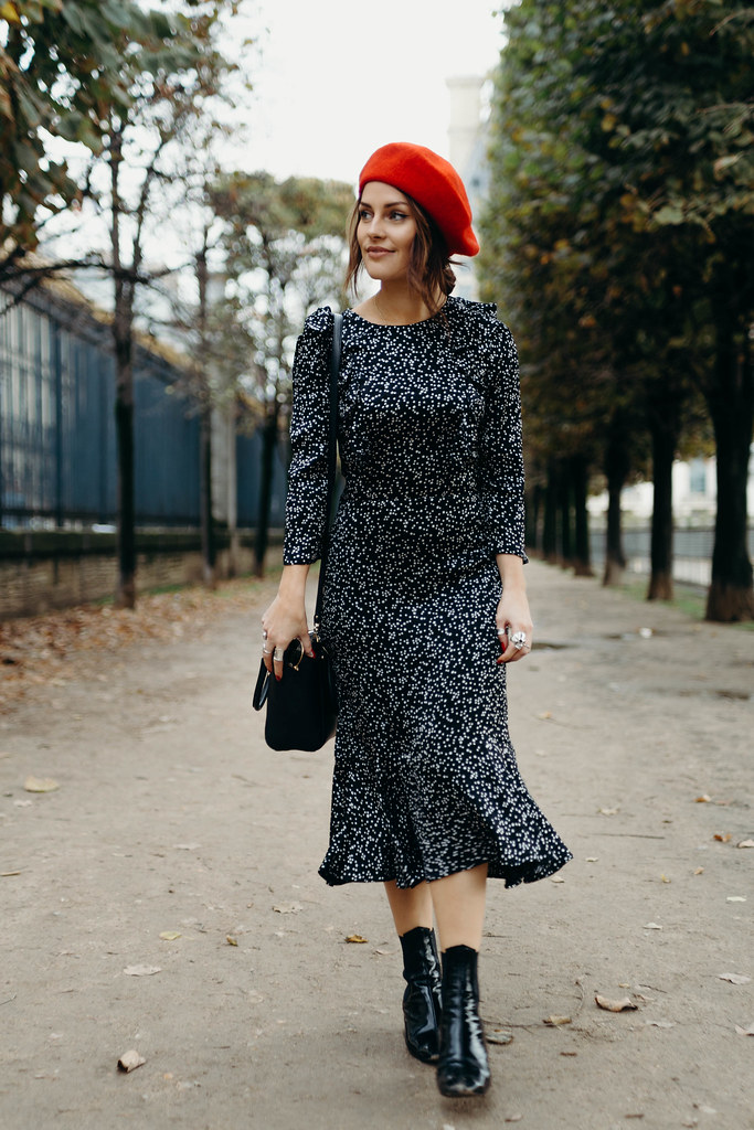 The Little Magpie Accessorize star print midi dress