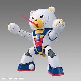 連邦的熊熊都是怪物嗎!?HG 1/144「熊亞凱III」 鋼彈三原色 ベアッガイIII [トリコロールペイント]【鋼彈基地限定】