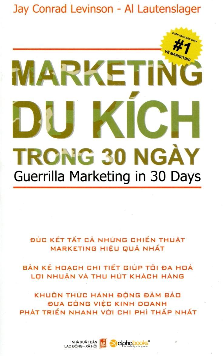 Marketing Du Kích Trong 30 Ngày - Jay Conrad Levinson