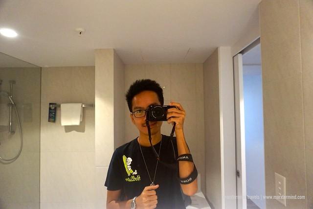 Novotel Surfers Paradise Bathroom Selfie