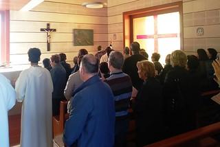 Noicattaro. Benedizione Chiesetta Cimitero front