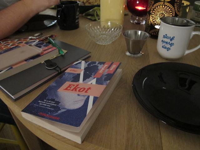 thursday, bokbönorna, bookclub meeting, helsingborg