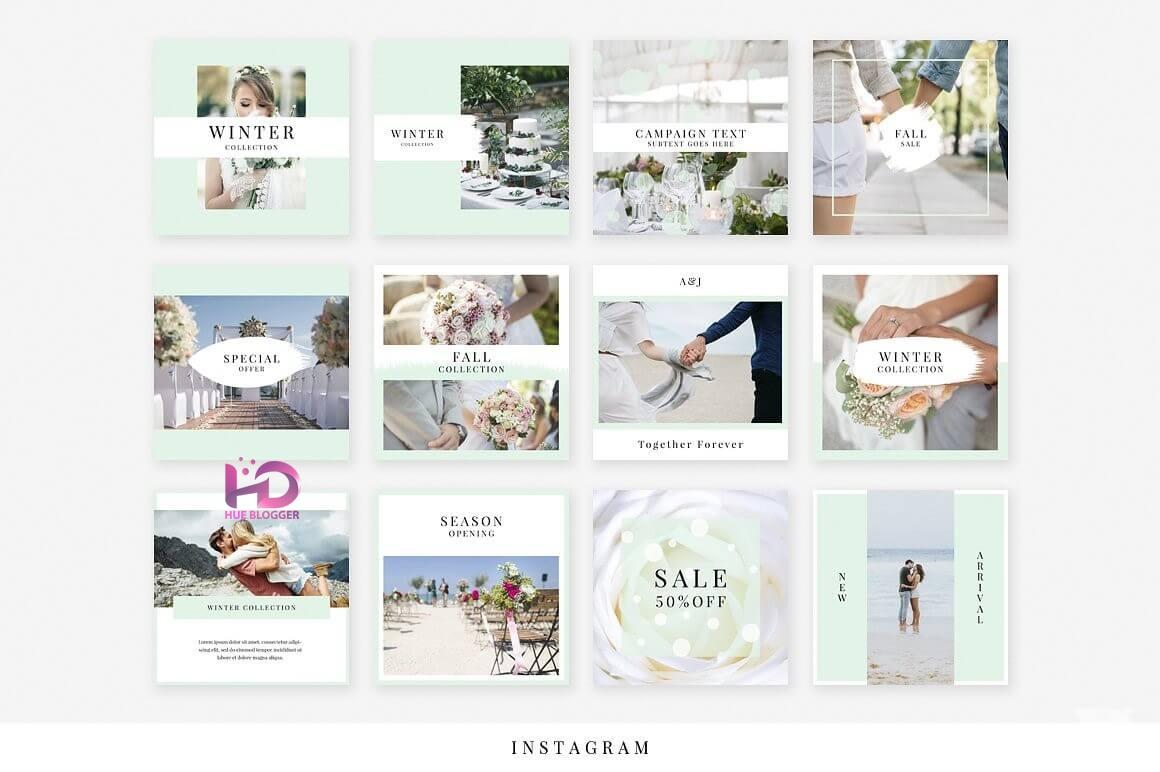 30+ Template thiết kế banner đám cưới tuyệt vời