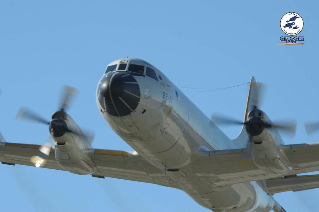 Último vuelo del P.3 Orión Alfa 01