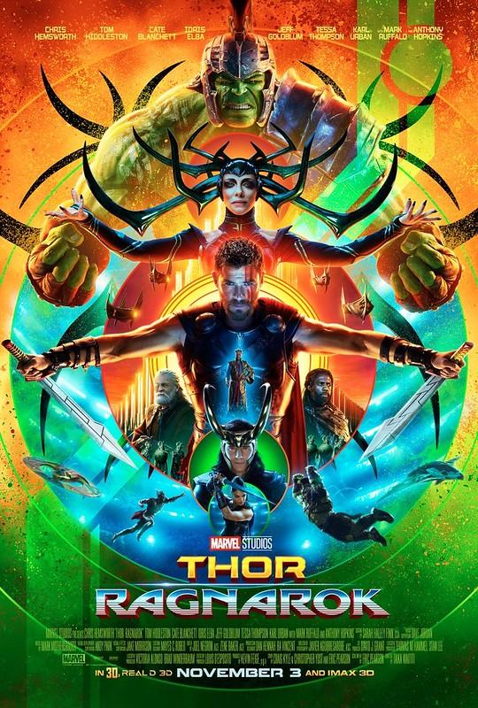 Plakat Thor Ragnarok