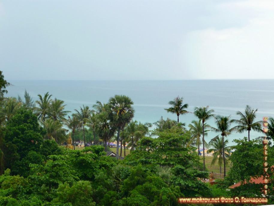 Палм - пляж в Таиландег фотографии сделанные как днем, так и вечером