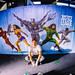 Justice League Ben Heine Live Art Performance for Movie Official Release (Warner Bros) - Made at Facts Comic Con (Flanders Expo) and Exhibited at Kinepolis Belgium (Antwerpen and Brussels) by Ben Heine
