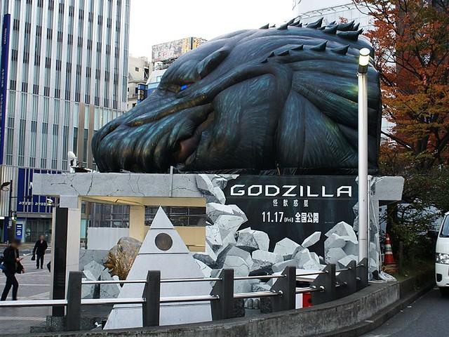 新宿街頭再度出現「哥吉拉」身影!?《GODZILLA 怪獸惑星》期間限定超大型企劃「動畫哥吉出口(アニゴジゲート)」展開!
