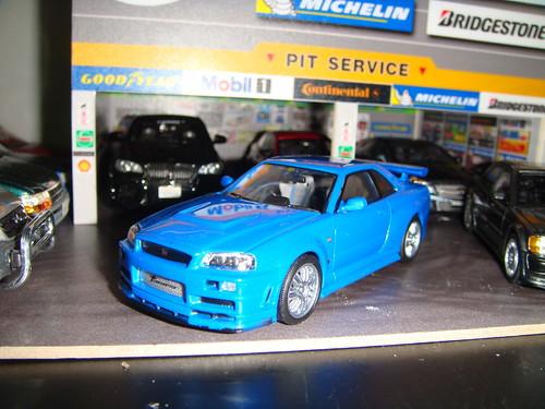 Brians 2002 Nissan Skyline Gtr R34 Scale143
