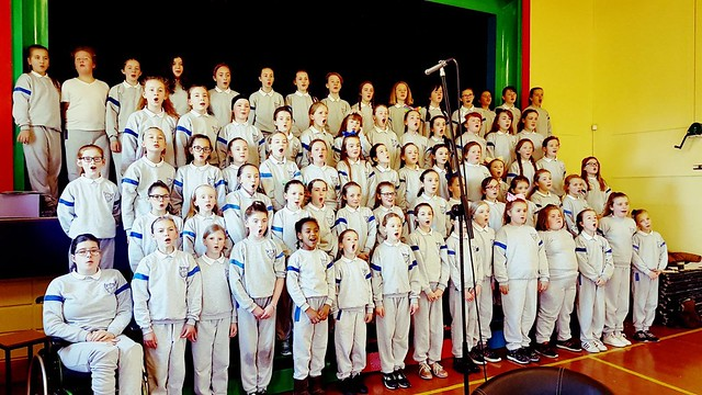 Choir Recording Christmas Album