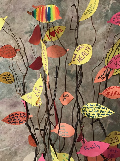 Our Thankful Tree