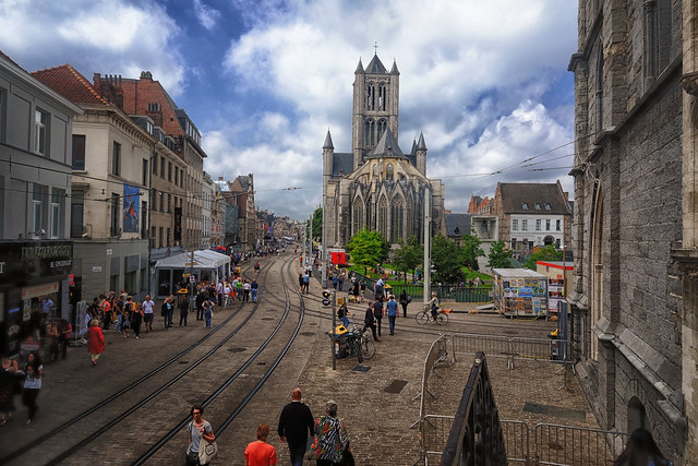 Cathedral in Ghent, Belgium