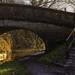 The bridge aslant ...