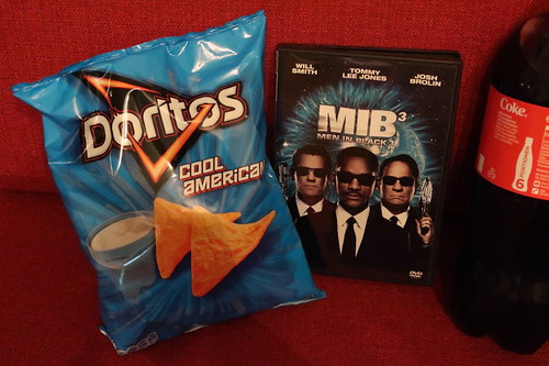 "Doritos Cool American und Coca Cola zum Film ""Men in Black 3"""