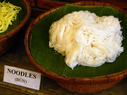 Vietnamese noodles: Bun