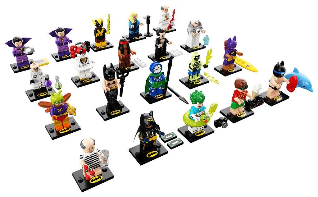 LEGO The Batman Movie 71020 - Collectible Minifigures Series 2