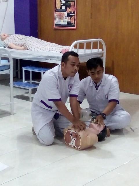 Praktikum BHD Keperawatan Gawat Darurat