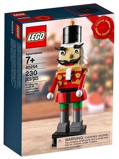 這個胡桃鉗會帶我去樂高王國嗎?! LEGO 40254 胡桃鉗士兵 Nutcracker 精緻滿額禮登場!