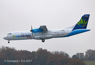 F-WWEQ ATR72 Air Caraïbes Simply