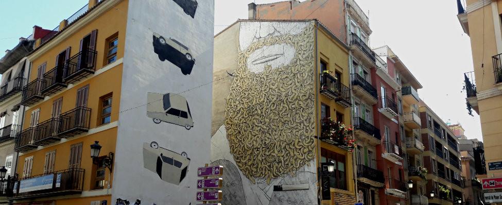 Stedentrip Valencia, street art in Valencia | Mooistestedentrips.nl