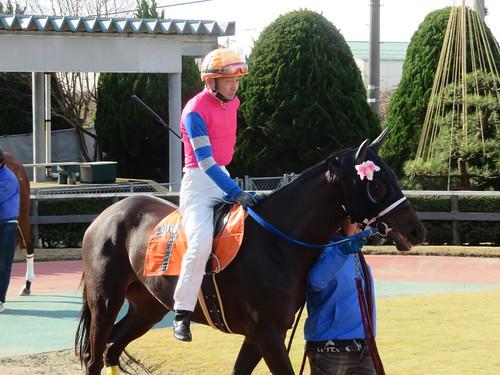 金沢競馬場の桑野等騎手
