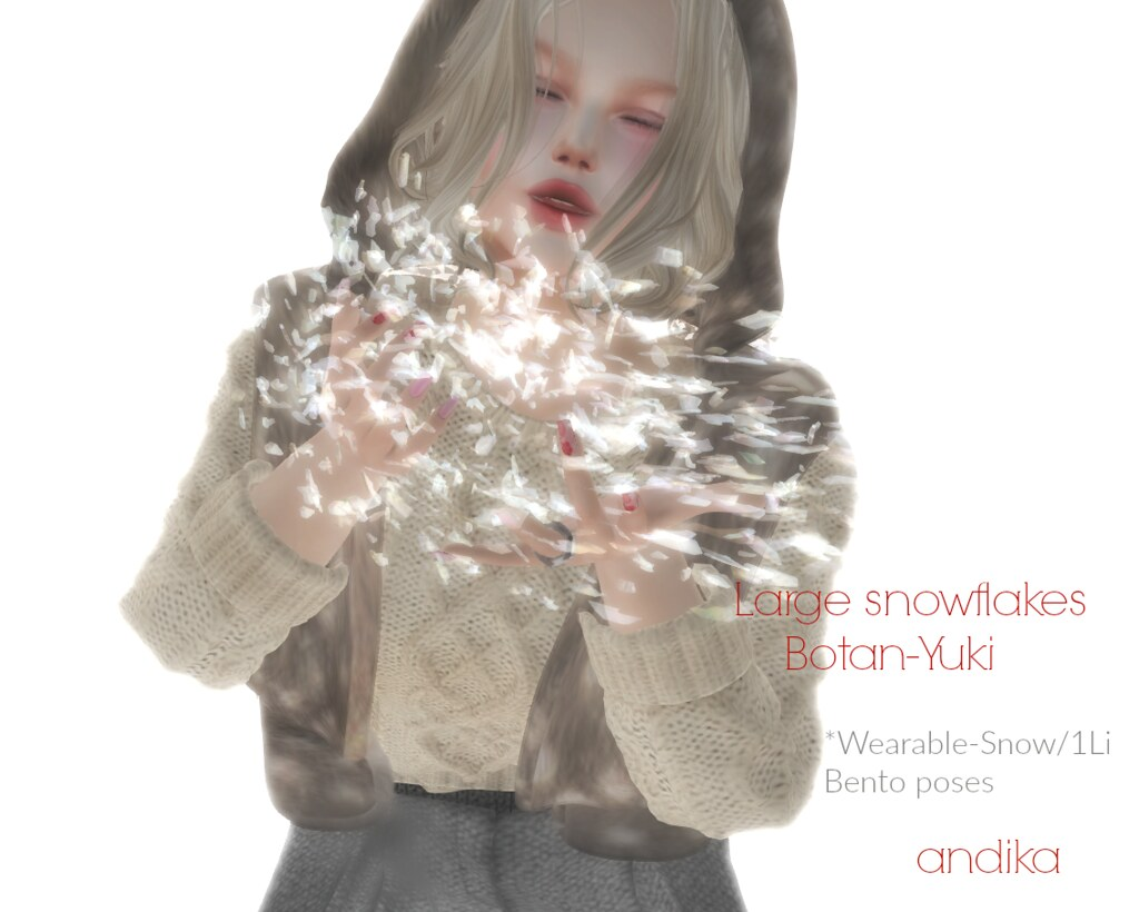 AD:andika[large snowflakes-Botan Yuki]:Gift - TeleportHub.com Live!
