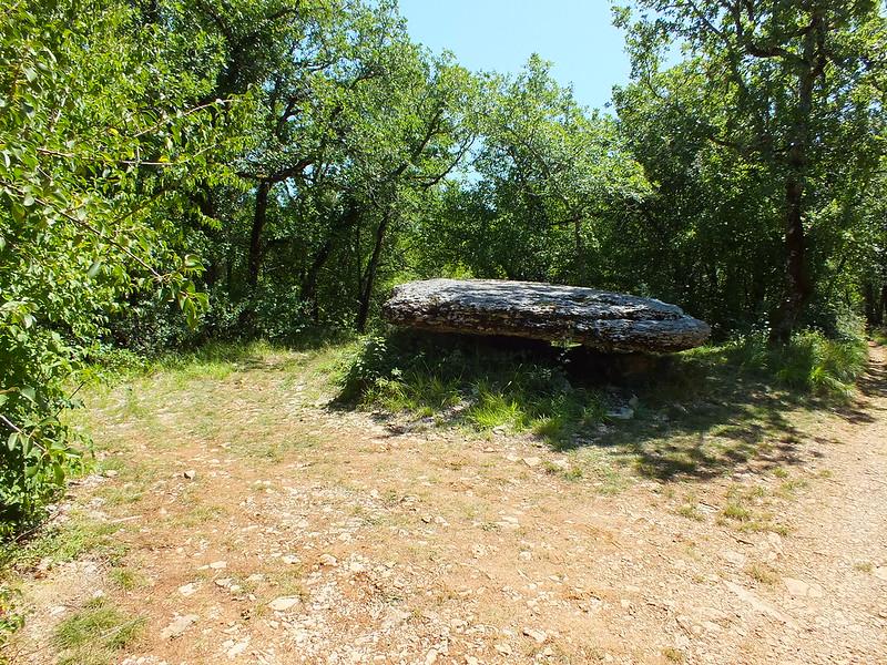 [154-003] Laramière - Dolmen de la Peyre Levade