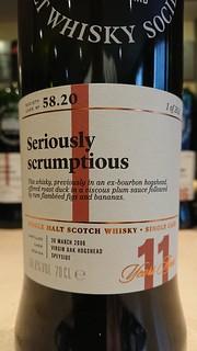 SMWS 58.20 - Seriously scrumptious