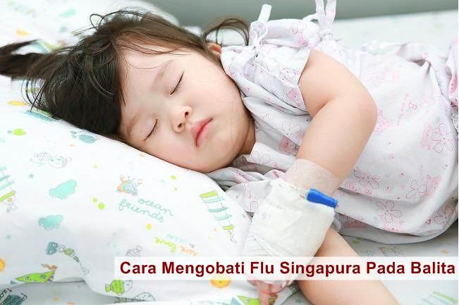 Cara Mengobati Flu Singapura Pada Balita