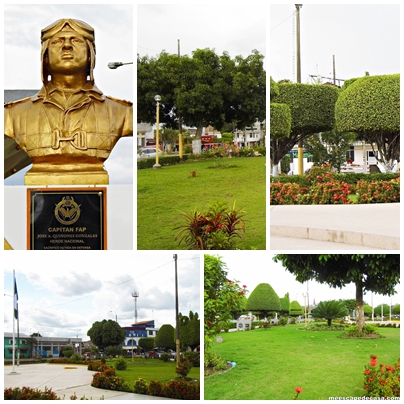 Plaza de Armas de Yarinacocha (Ucayali - Perú)