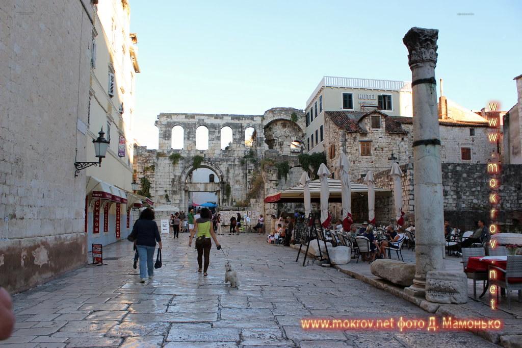 Сплит — город в Хорватии Фотоискусство
