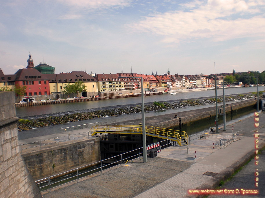 Германия - Вюрцбург фотографии сделанные как днем, так и вечером