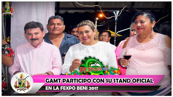 gamt-participo-con-su-stand-oficial-en-la-fexpo-beni-2017