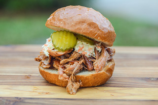 Pulled Barbecue Turkey Sandwiches