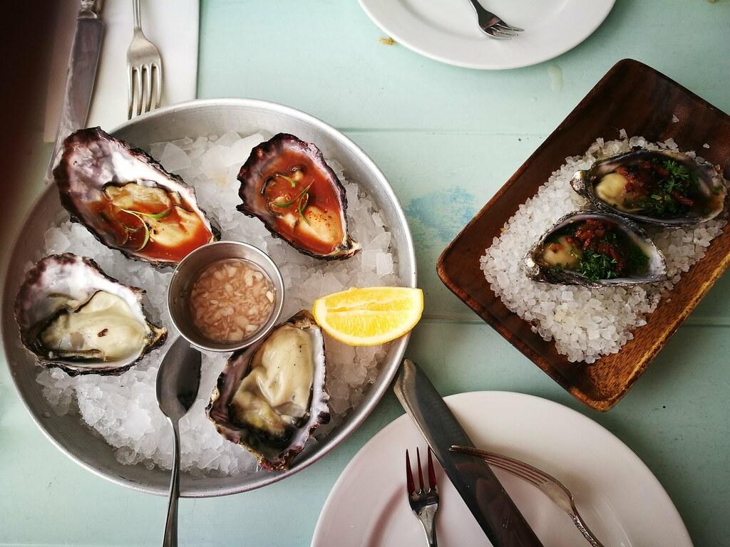 Waiheke oysters