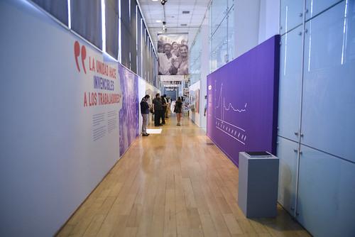 Exposición «La unidad hace invencibles a los trabajadores»