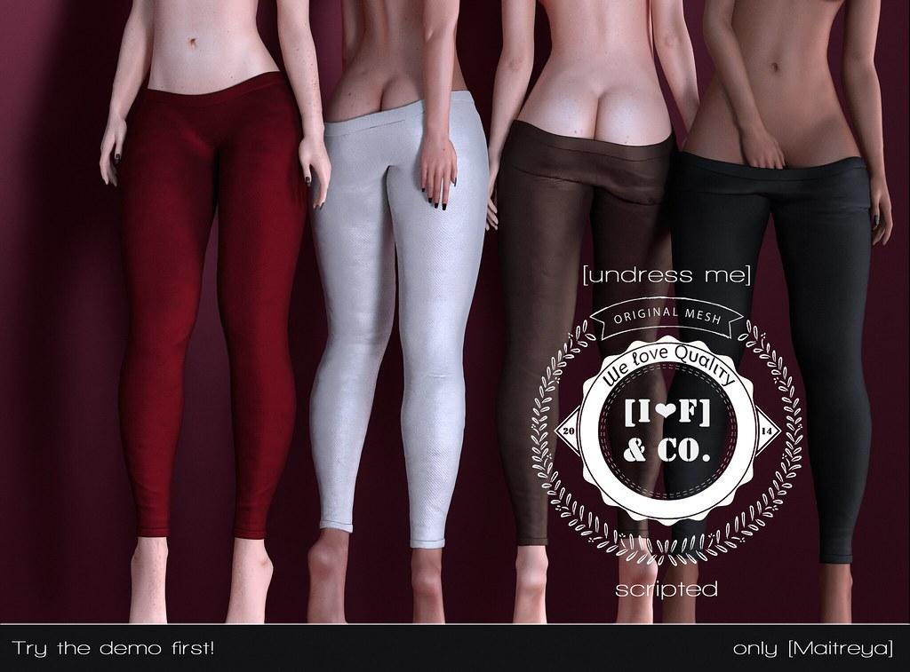 [I<3F] Leggings [06] [undress me] @Shiny Shabby - TeleportHub.com Live!