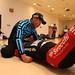 第9回 Swacchi CUP 谷 新吾選手によるウォーミングアップと軽補強トレーニング