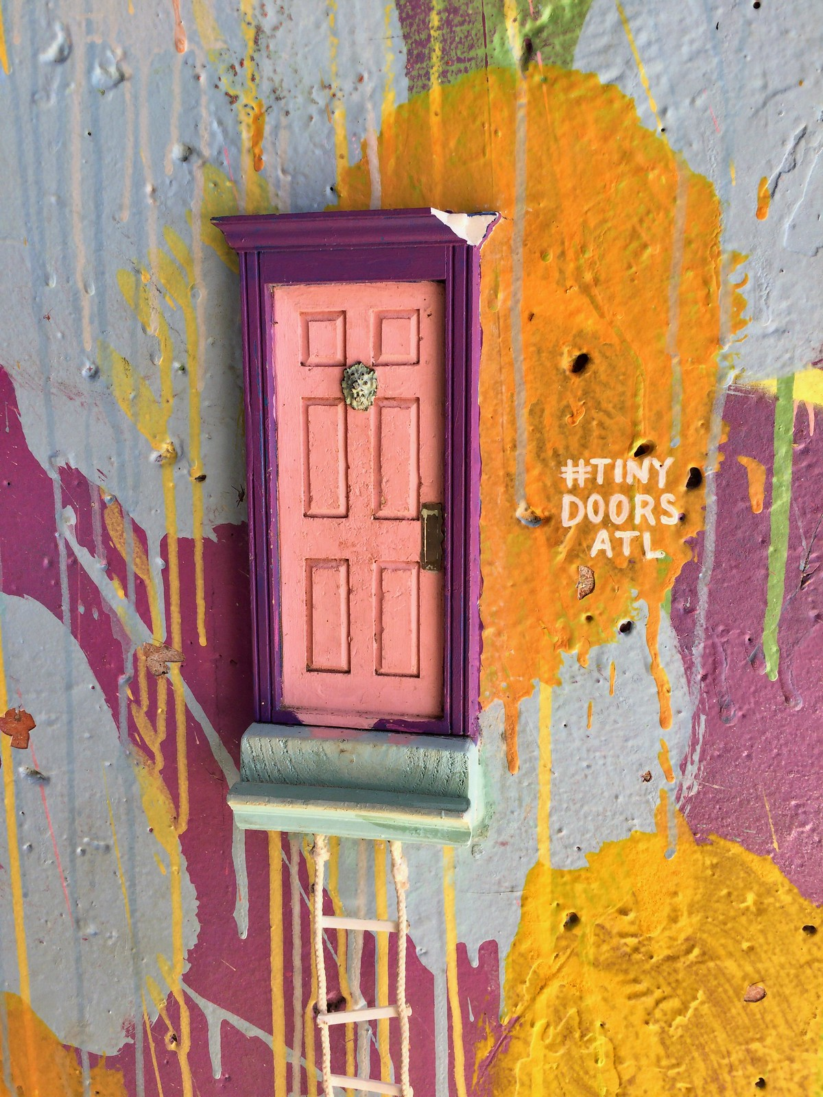 Tiny Doors Am Beltline Art Trail Atlanta Globus Dei