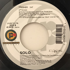 SOLO:WHERE DO U WANT ME TO PUT IT(LABEL SIDE-B)
