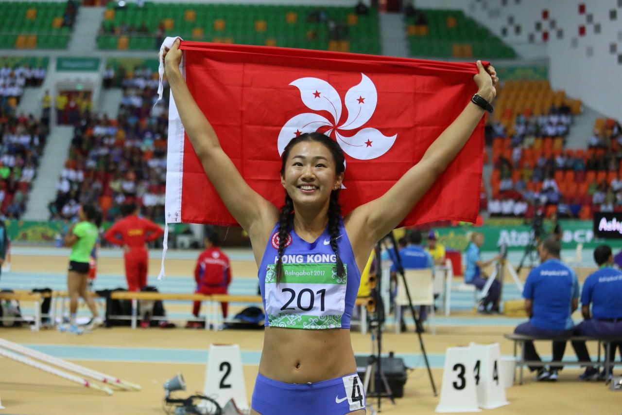 呂麗瑤是本港跨欄運動員。(資料圖片)