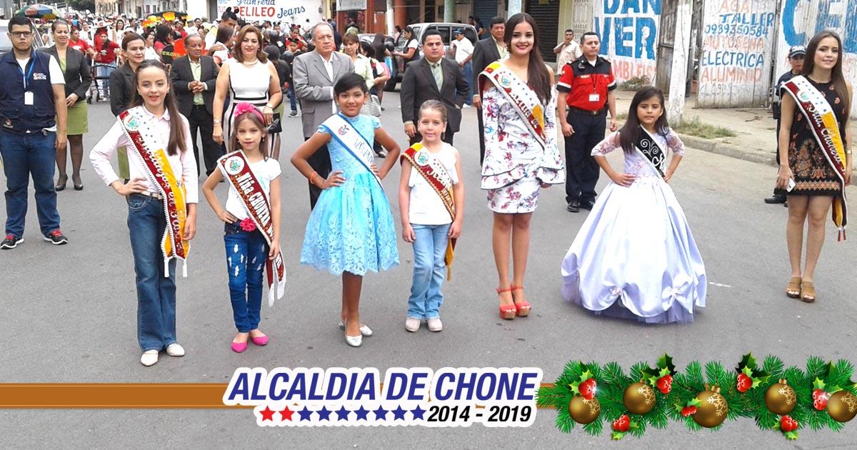 Alcaldía de Chone conmemoró Día Internacional de la discapacidad