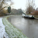 Icy canal at Preston