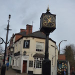 Picks - High Street, Halesowen - clock