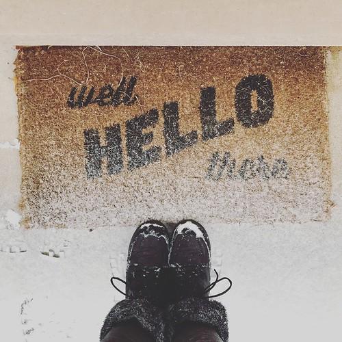 #deckthehalls #snowfall