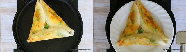 chili cheese dosa 3
