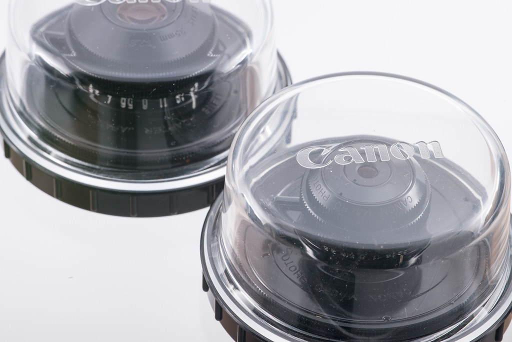 CANON MACRO PHOTO LENS 20mm & 35mm