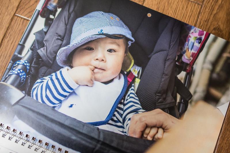 ビスタプリントで作成したカレンダーの写真の画質はなかなかキレイ